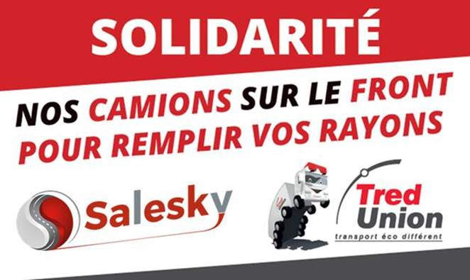 affiche solidarité Salesky