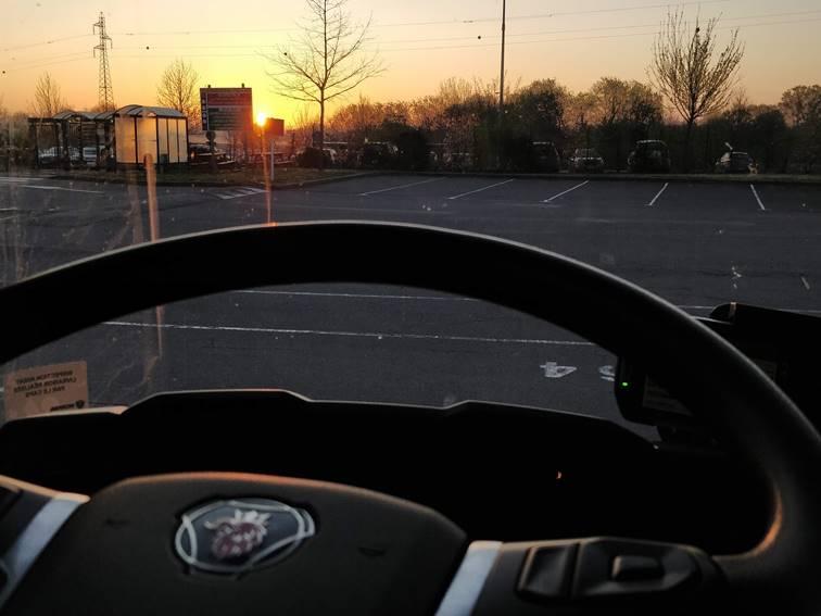 volant de camion Salesky