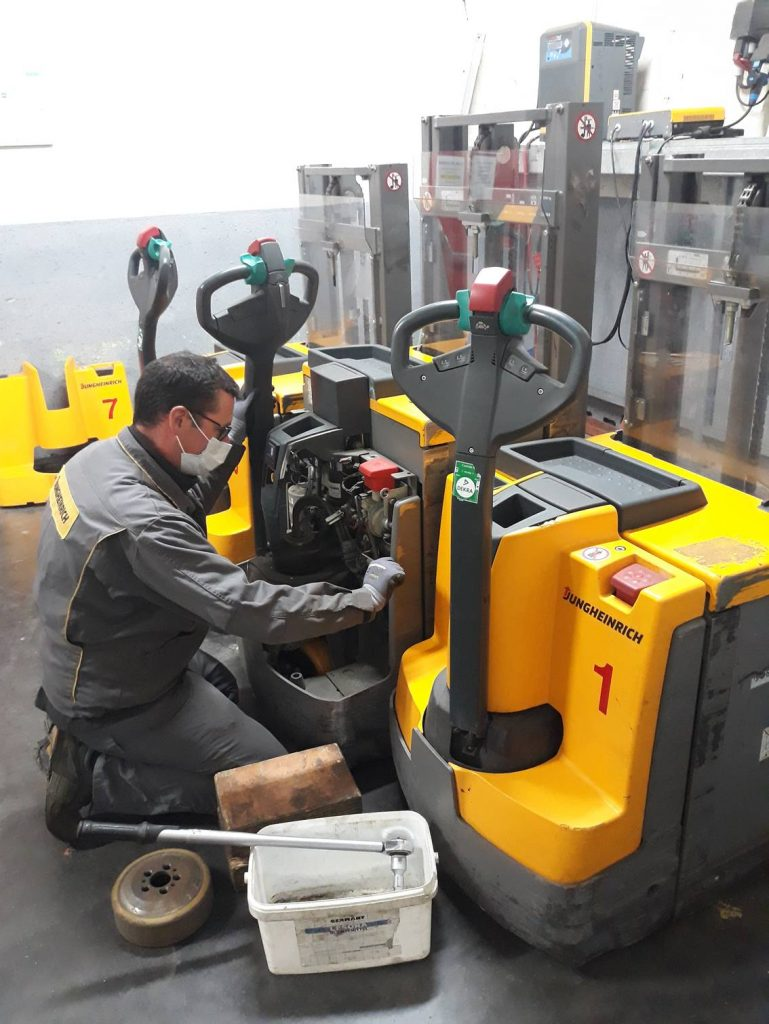 entretien machines